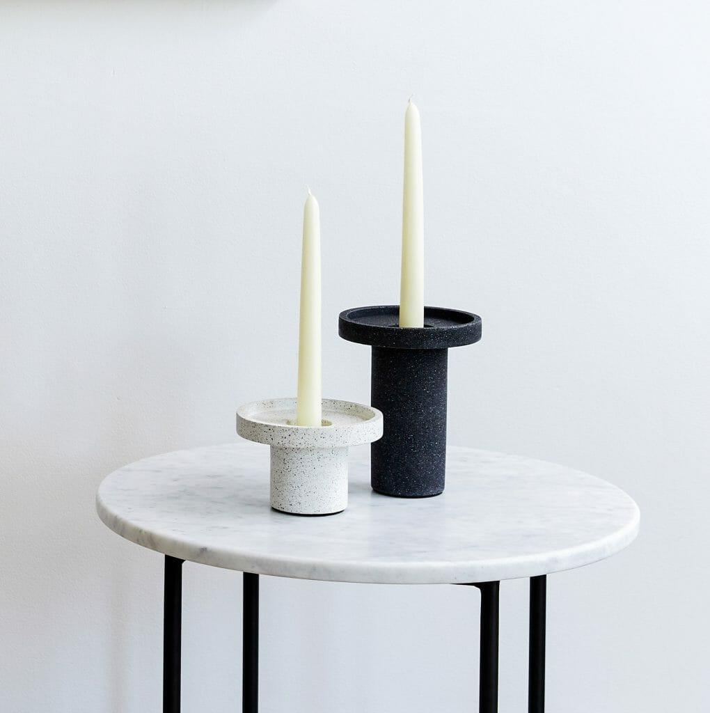small-candle-holder-white-jesmonite