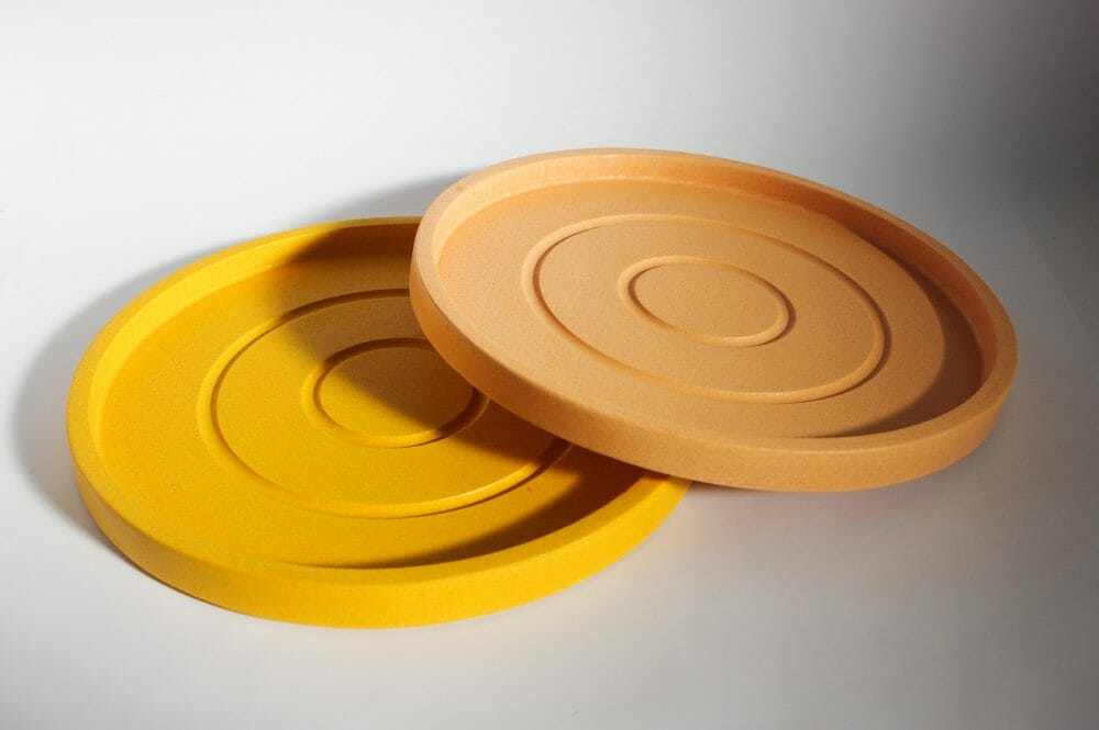 large-round-trays-peachy-pink-and-mustard-yellow