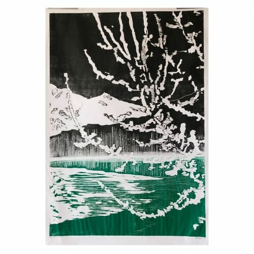 rauhreif-woodcut-print-art-contemporary-three-colour