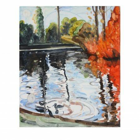 reflector-III-oil-painting-linen-artist-british-painter