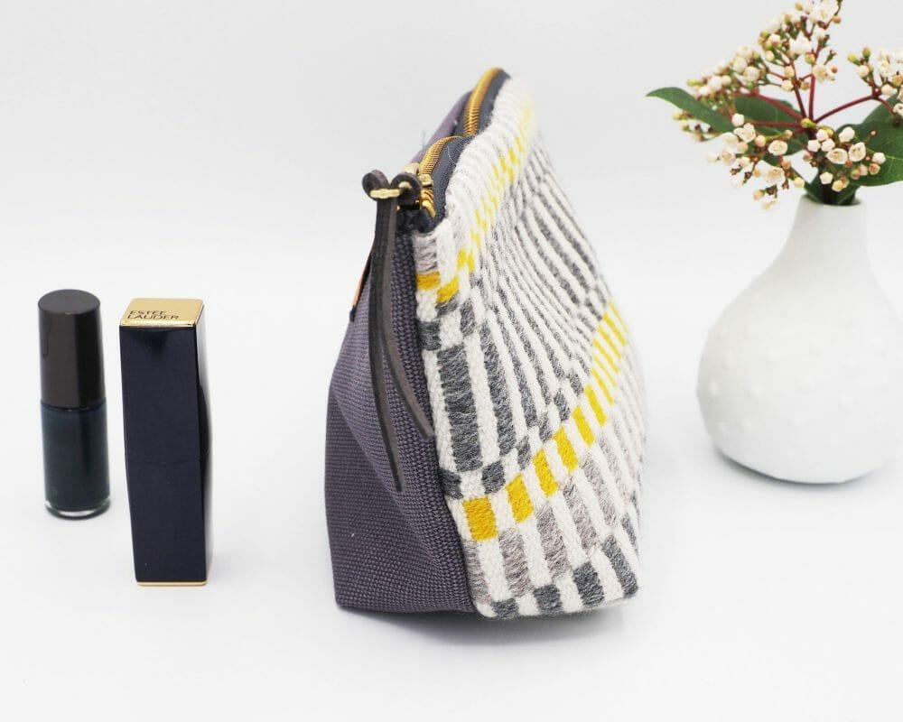 grey-and-yellow-stripe-box-bottom-bag-british-textile-design-accessories-weaving