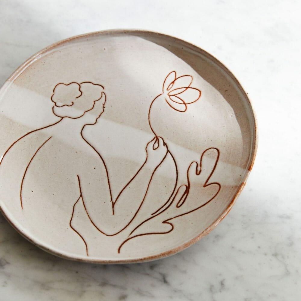 ceramic-aphrodite-plate