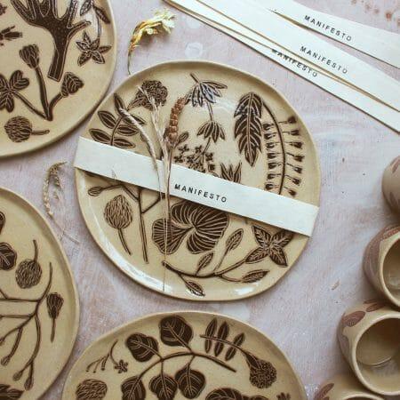 foraging-plate-ceramics-scotland