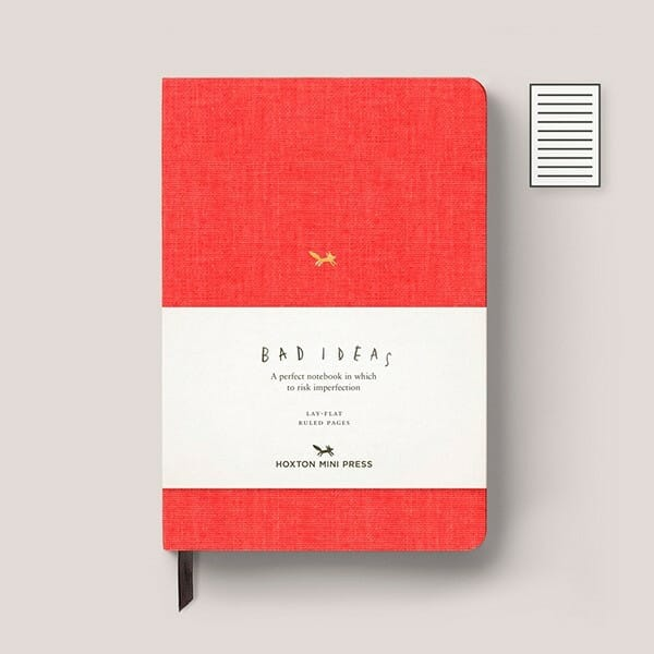 a-notebook-for-bad-ideas-sketchbook-drawing-book