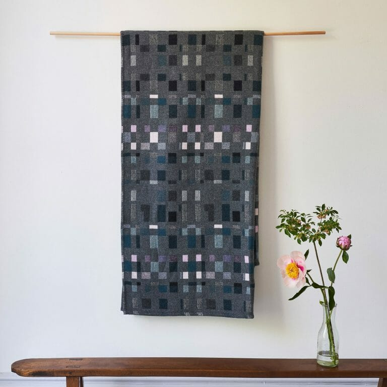 albers-teal-blanket-textiles-british-design-fabrics-london