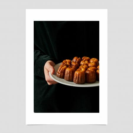 Canelés-giclée-photo-print-colour-French-pastry