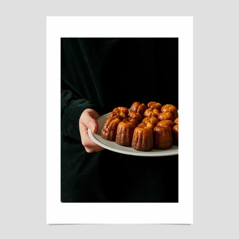 Canelés-giclée-photo-print-colour-French-pastry