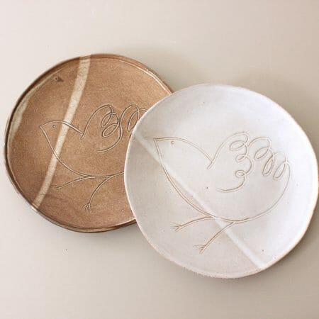 handmade-rustic-ceramic-sparrow-plate