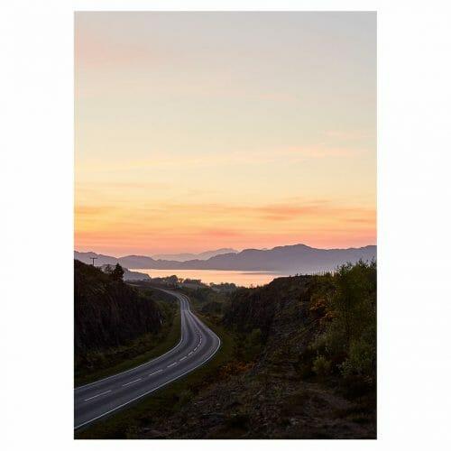 Isle of Mull Giclée photo print sunset