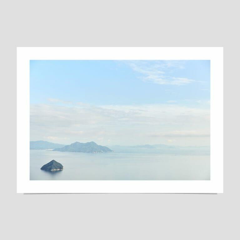 Miyajima Giclée photo print sea sky