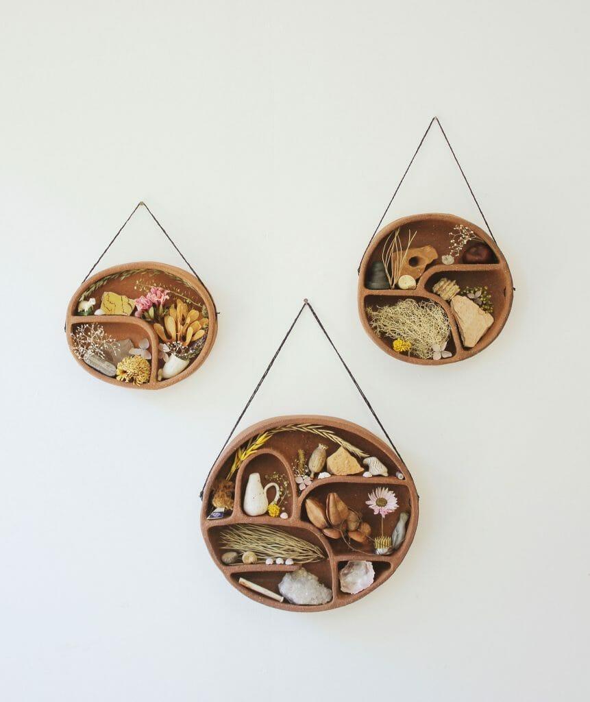terracotta-shelf-curiosities-ceramics-handmade-pottery