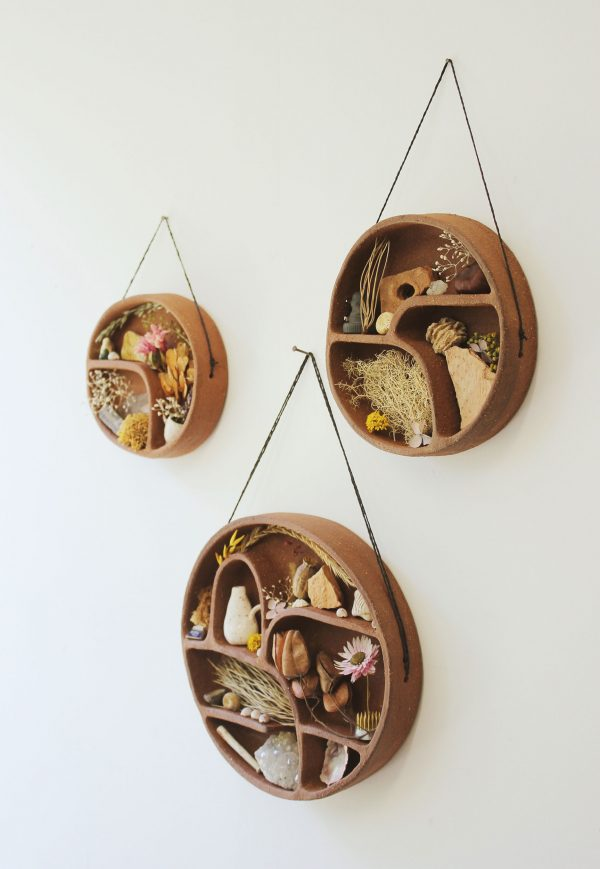 terracotta-shelf-homeware-ceramics-design-handmade-interiors-shelving-home