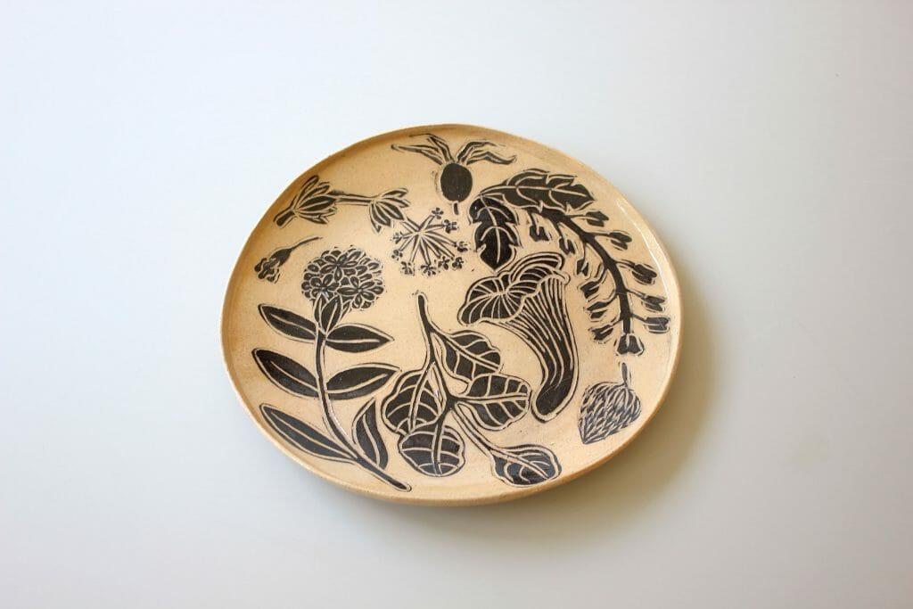 foraging-plate-ceramics-art