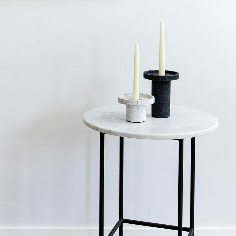 Side-Table-Carrara-Marble-white