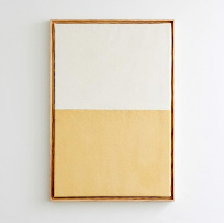 naples-and-white-painting-abstract-rectangular-half-white- half-naples-yellow
