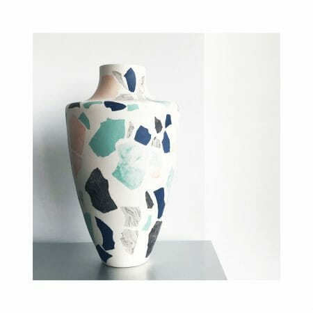terrazzo-vase-blue-green-pink-lifestyle-interiors-home-design-ceramics-sculpture-design