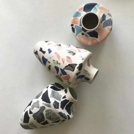 terrazzo-vase-handcrafted-ceramics-sculpture-handmade