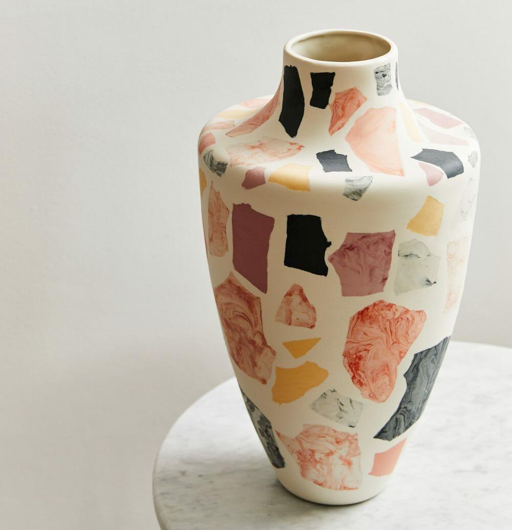 terrazzo-vase