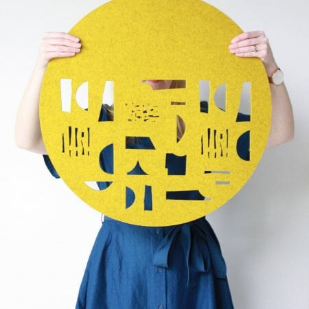 form-wall-hanging-felt-art-cutout-patterns-mustard-colour