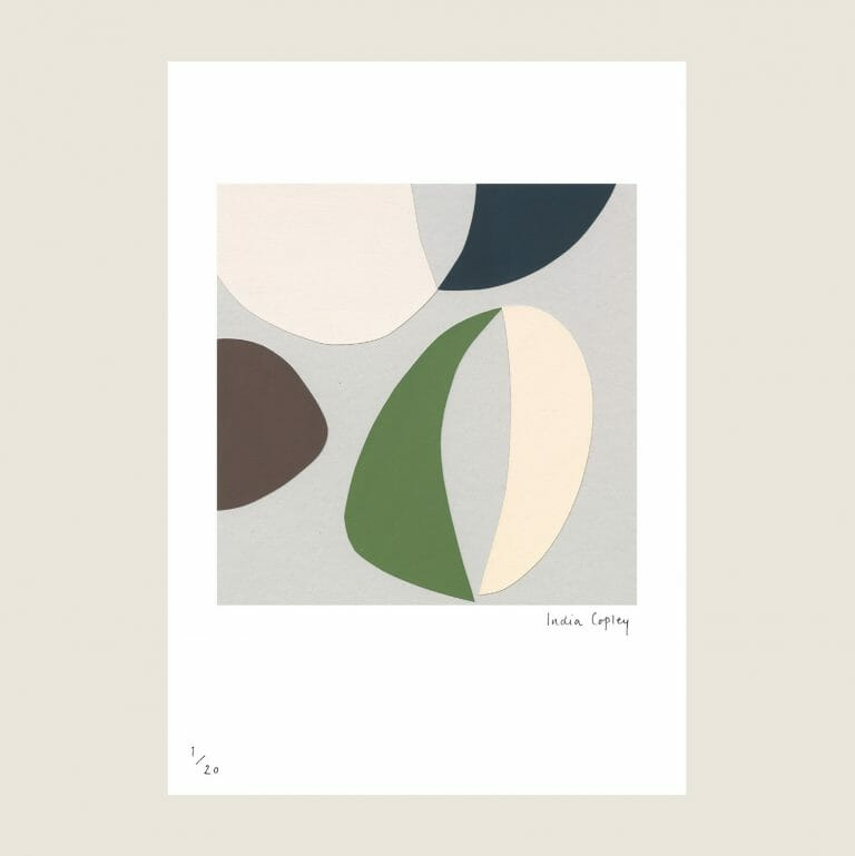 twelve-giclée-print-colourful abstract print based on collage