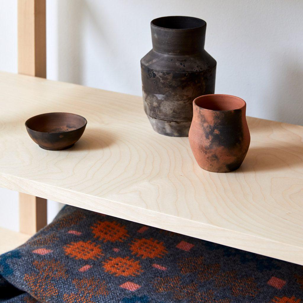 pit fired vase 03 ceramic