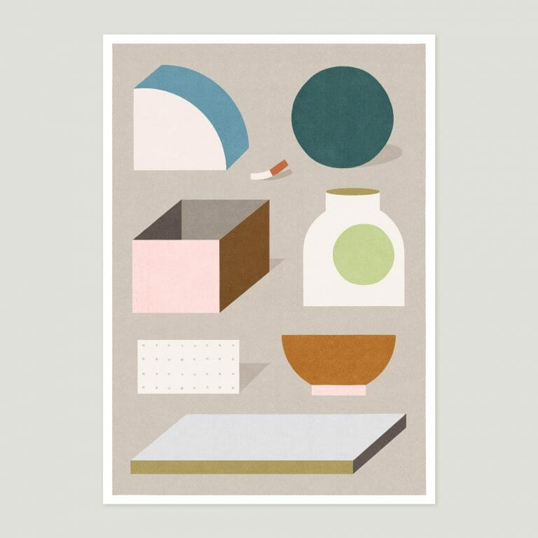 objects-giclee-print- art-contemporary-cheerful-colours