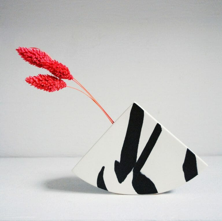 Shape Vase Black II | Ceramic