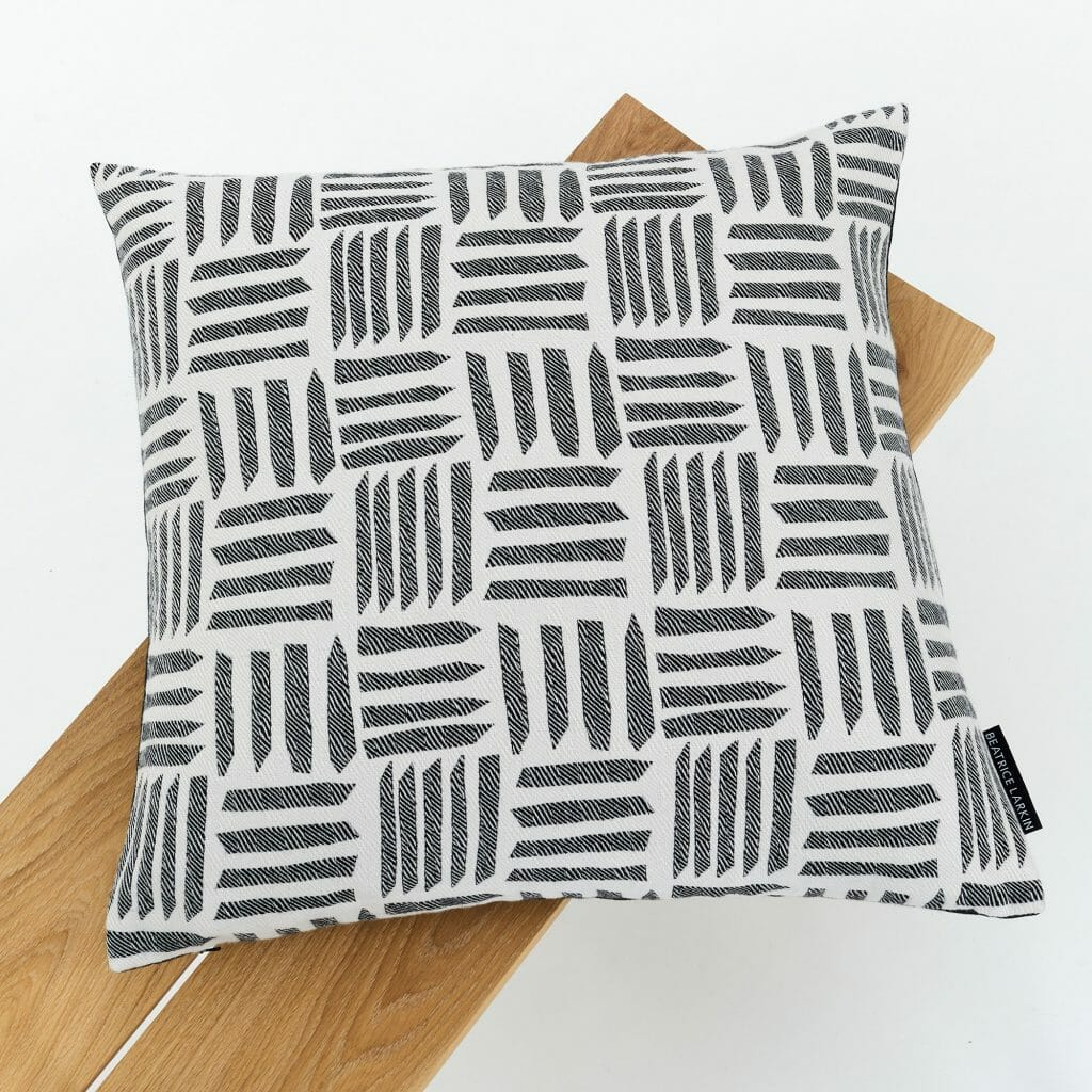 Cut-Light-Cushion-black-white-geometric-design