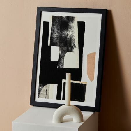 arch-candle-holder-white-ceramics-pottery