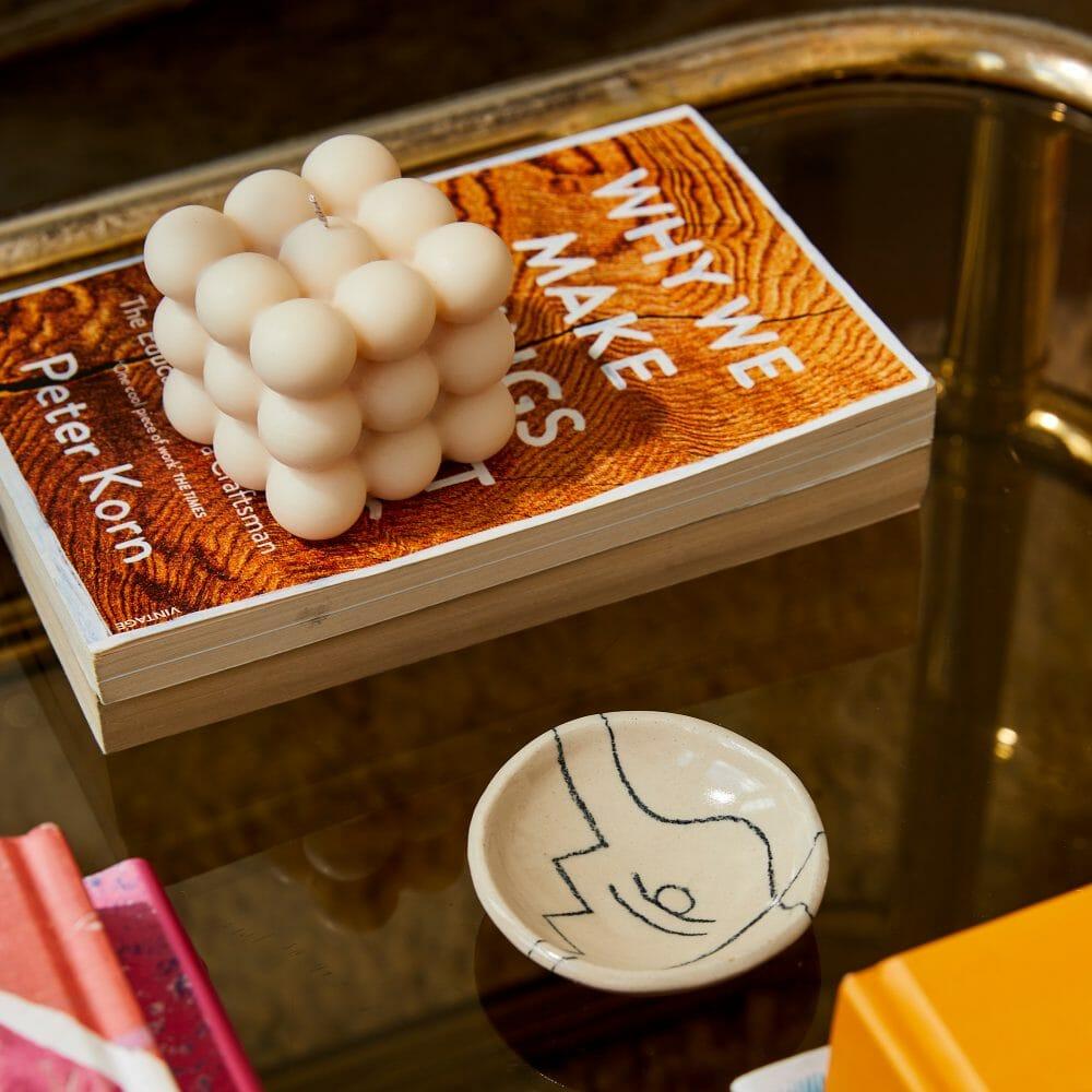 bubble-candle-cream-home-accessories