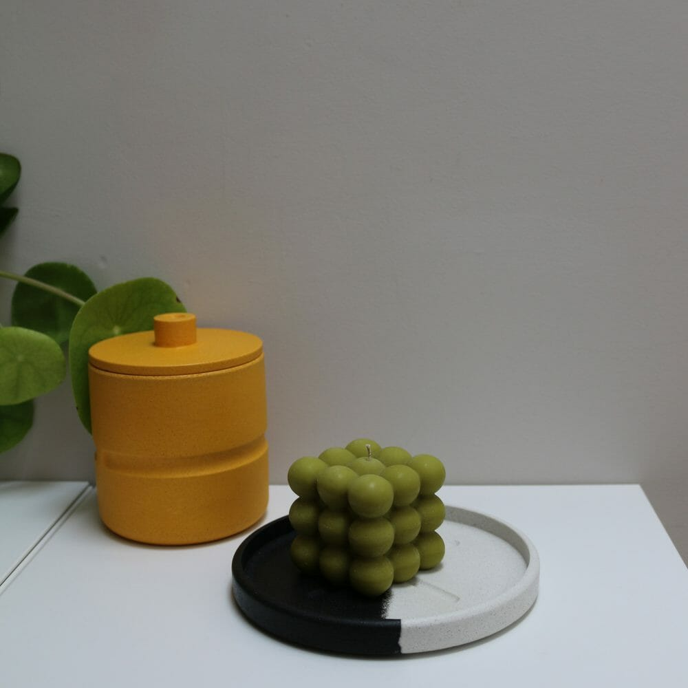 olive-bubble-candle