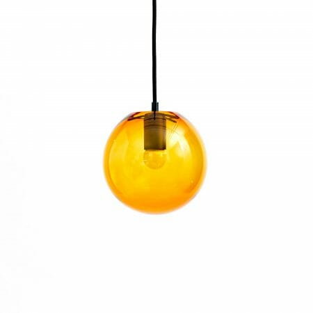 amber-globe-pendent