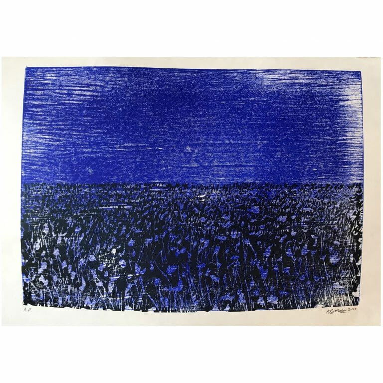 meadow-II-woodcut-print-contemporary-art-two-colours