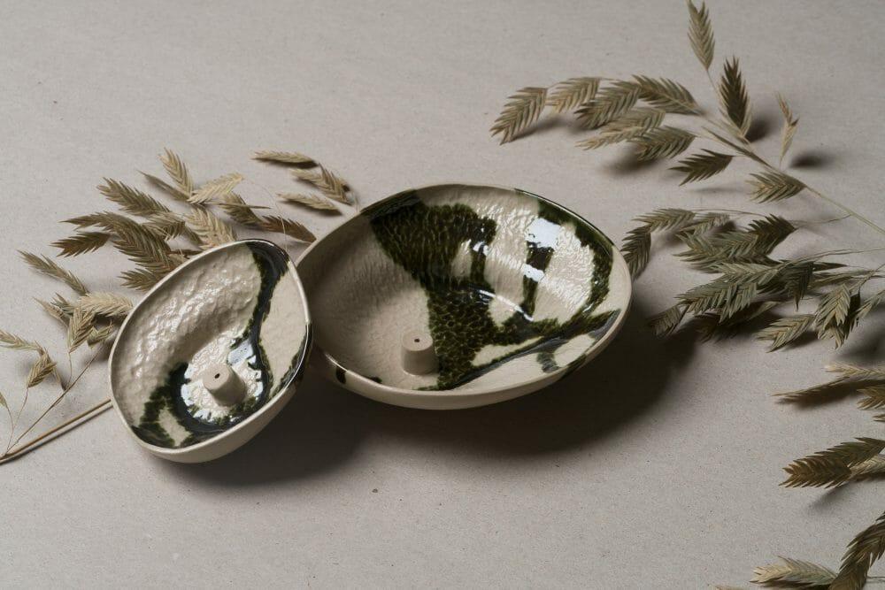 Stoneware-Incense-Holder-Lichen-ceramic