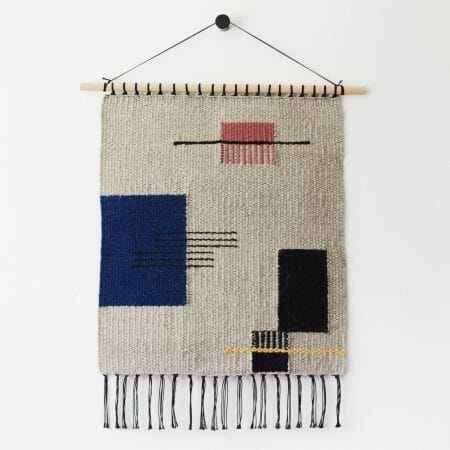 Sommitelma-2-wall-hanging-art-handwoven-abstract-tassles