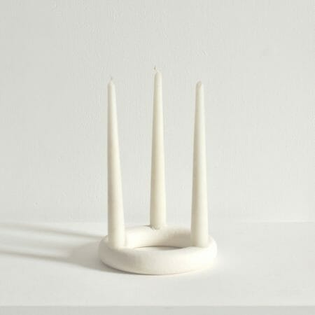 torus-ring-candle-holder-white