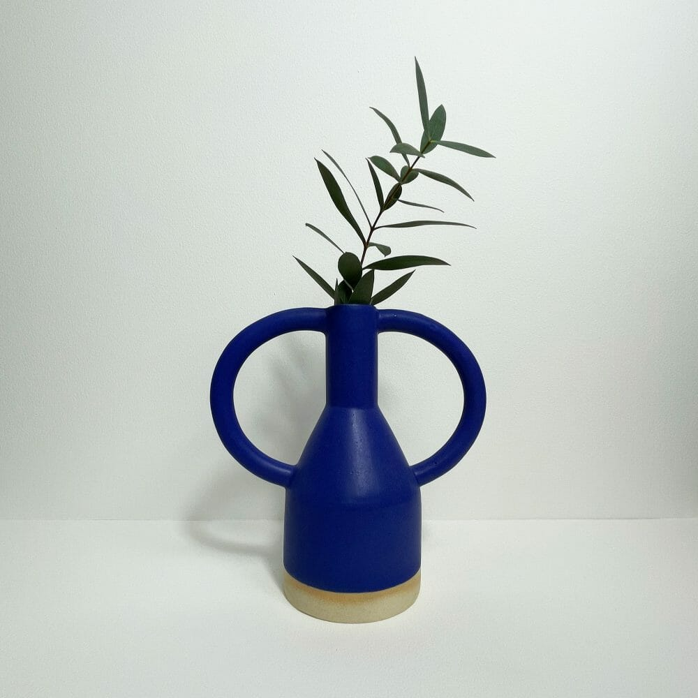 blue-jug-eared-vase-midi-ceramics-pottery