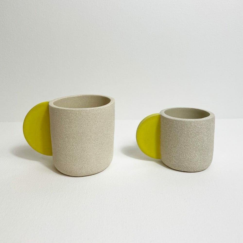bright-yellow-cups-ceramics-pottery-handmade