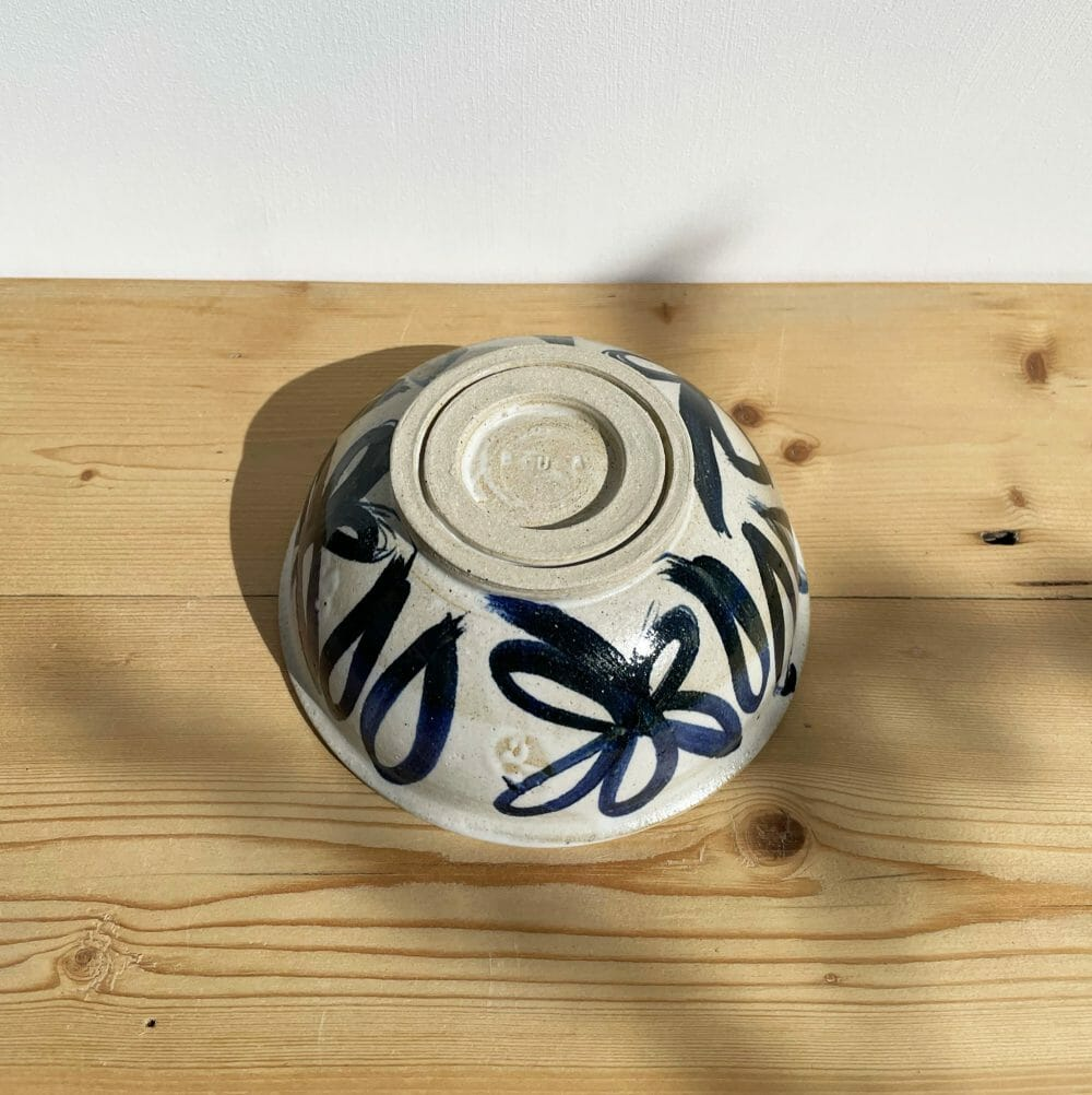 calendula-bowl-ceramic-pottery-blue-illustration-navy-drawing-white