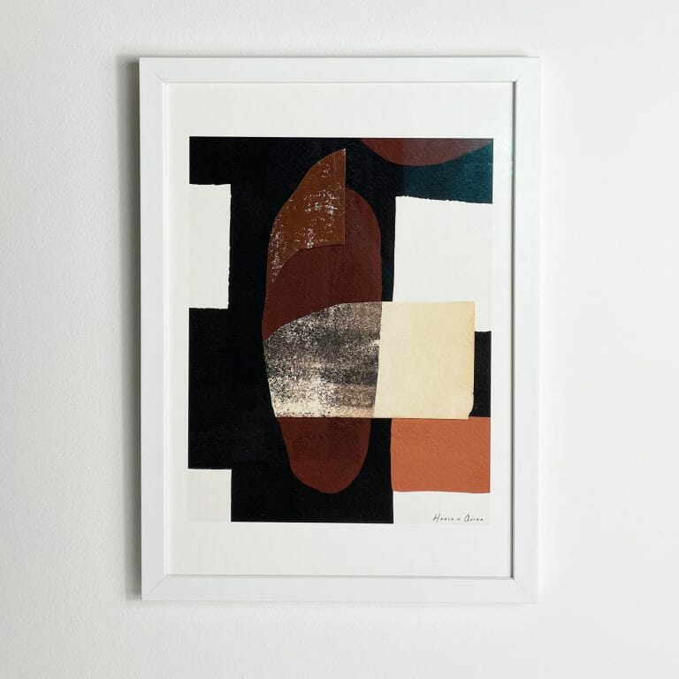 gossen-II-print-wall-art-abstract-black-brown-white