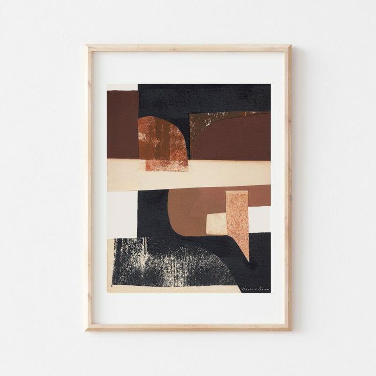 gossen-III-print-wall-art-black-white-brown-abstract