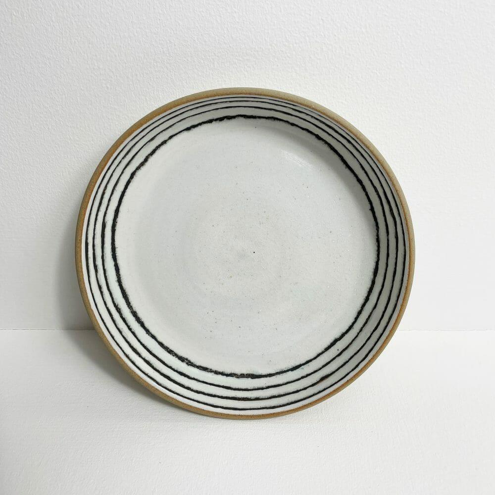 plate-ceramic-graphite-handmade-pottery