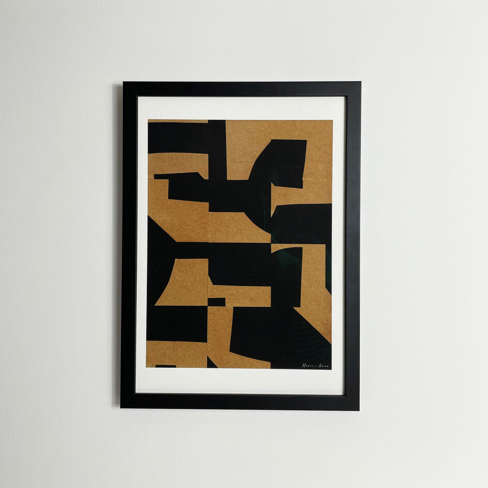 reassembled-I-print-abstract-brown-black-wall-artwork