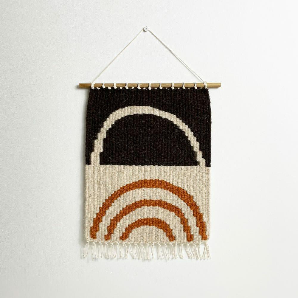 sol-i-wall-hanging-black-cream-mustard-handwoven-abstract-semicircles