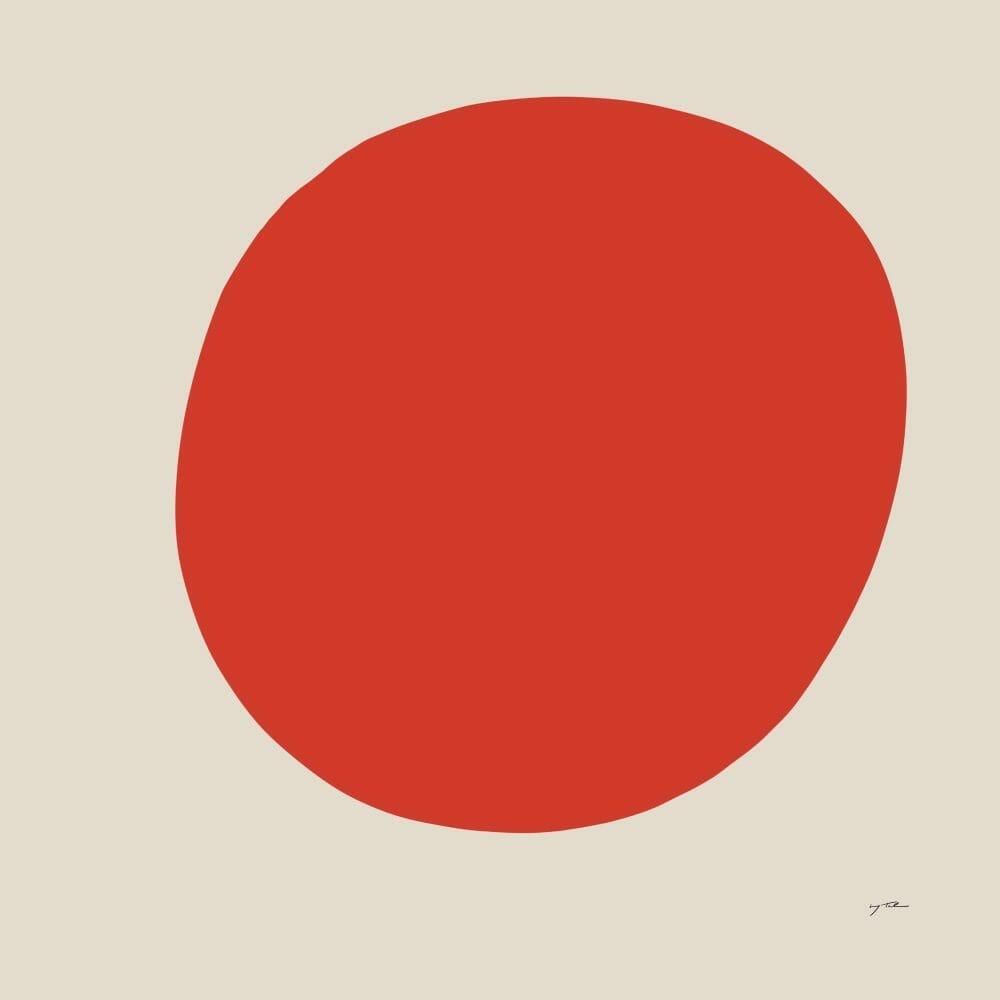 sun-art-print-red-circle-shape-abstract-artwork