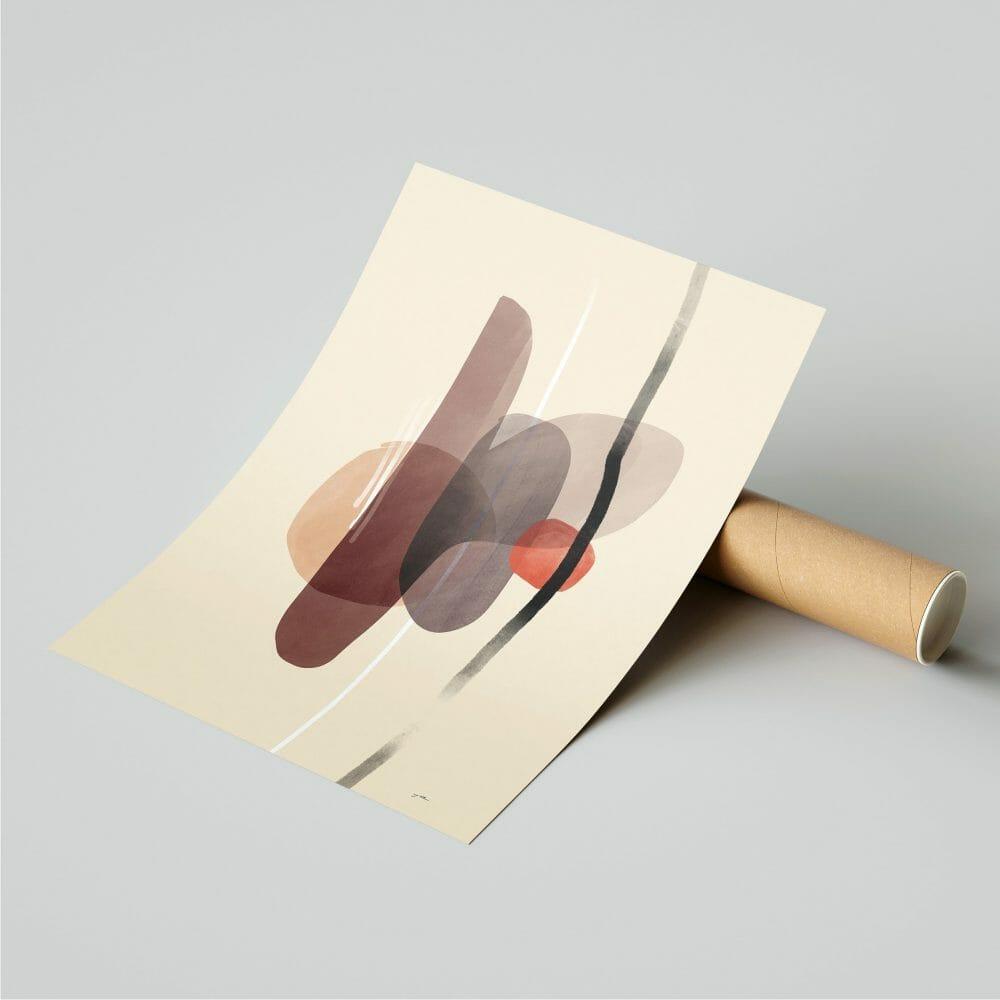 overlap-02-art-print-abstract-shapes-framed-artworks