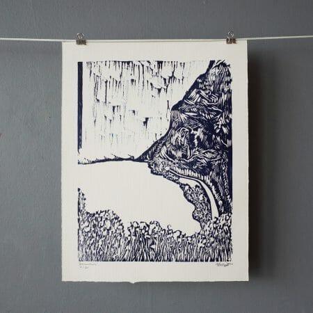 somewhere-woodcut-print-gallery-printmaking-edition