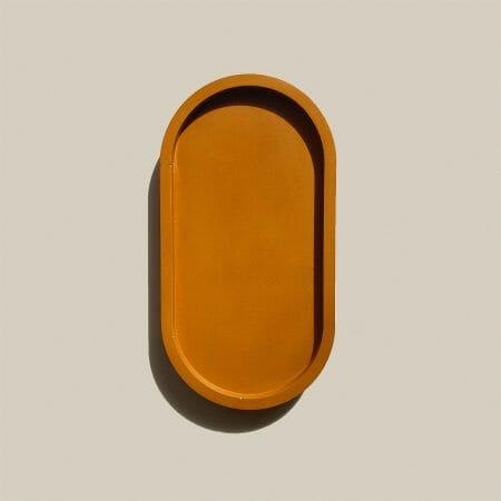 terracotta-oval-tray-jesmonite-homeware-design