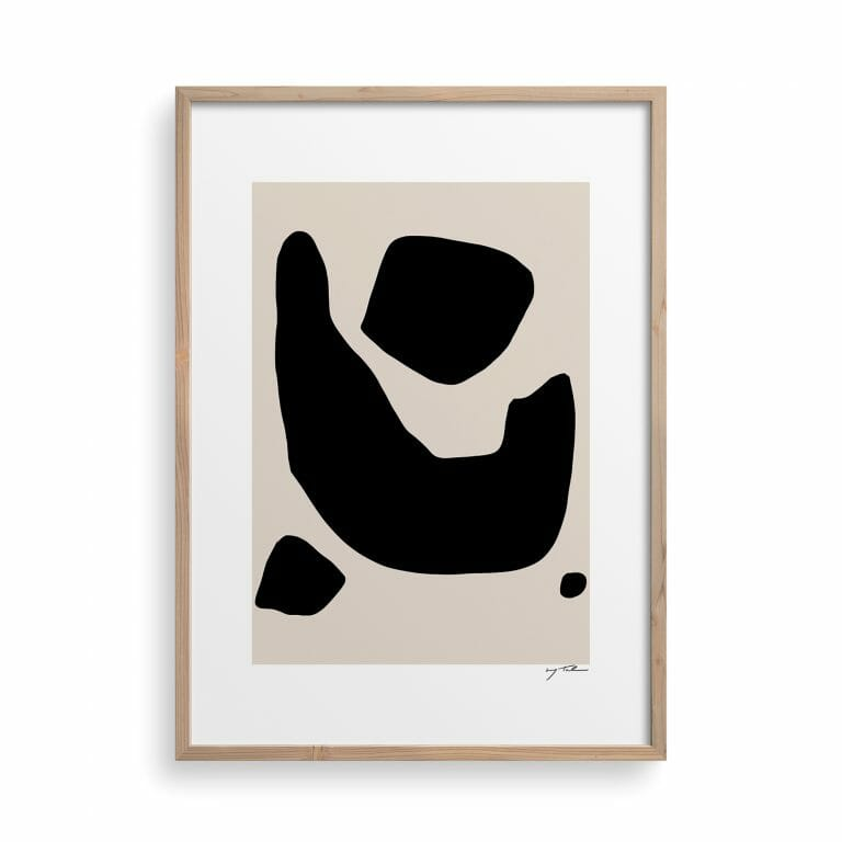 shape-03-art-print-black-cream-abstract-artwork