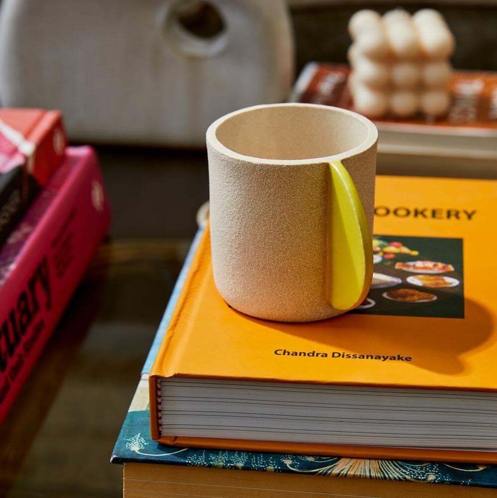bright-yellow-cup-ceramic-handmade-pottery